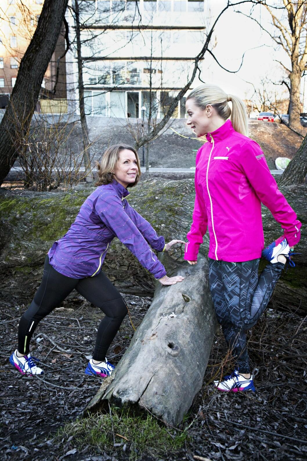 Lene Alexandra Øien (32) og moren hennes Nina, har et tett bånd og hun har vært en viktig støttespiller opp gjennom årene. Foto: All Over Press Norway