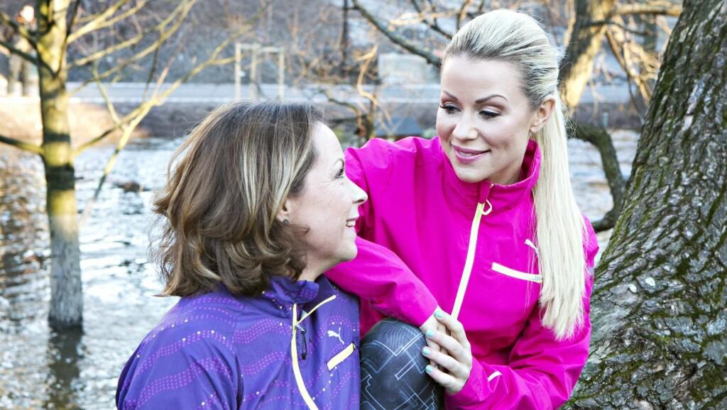 TAKKNEMLIG FOR MOREN: – Hadde jeg ikke hatt din støtte, hadde jeg nok vært død for lenge siden. Når ting har vært virkelig vanskelig i livet mitt, har jeg alltid hatt min mor for meg der, forteller Lene Alexandra Øien (32). Foto: All Over Press Norway