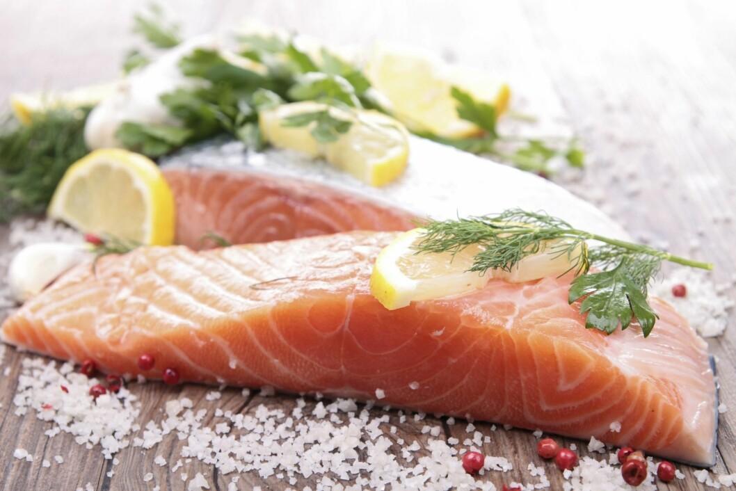 """FORTSATT BEST: Fisk er fortsatt regnet som """"sunnere"""" enn kjøtt - også rødt kjøtt.  Foto: Getty Images/iStockphoto"""