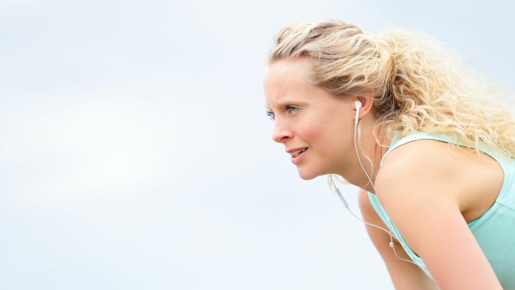 FOKUSER PÅ INN- OG UTPUST: Resultatet er at pulsen går ned, beina føles lettere, og farten og frekvensen øker. Foto: Maridav - Fotolia
