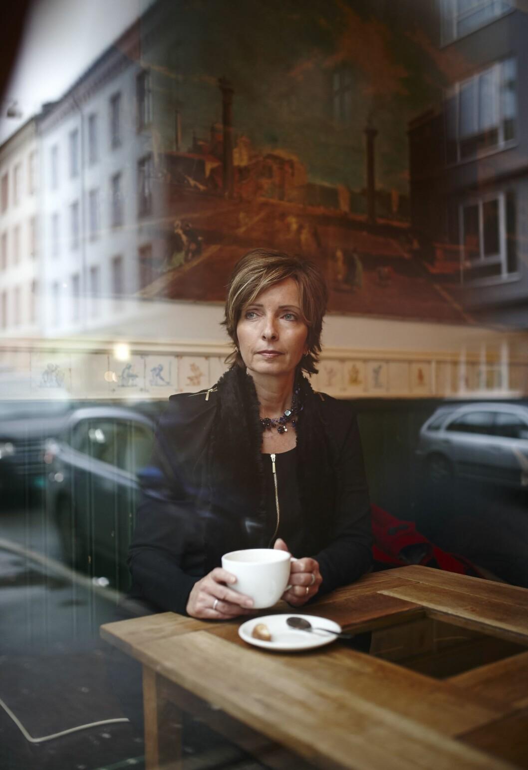 USIKKER PÅ FREMTIDEN: Hanne Kristin Rohde har ennå ikke bestemt seg for om hun går tilbake til lederjobben i politiet. Foto: All Over Press Norway