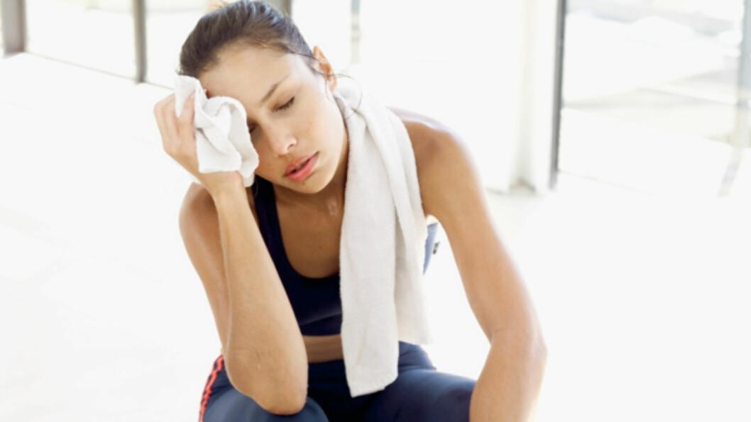 RESTITUSJON: Tine Styrk passer perfekt etter som restitusjonsdrikk etter en hard treningsøkt.  Foto: Thinkstock