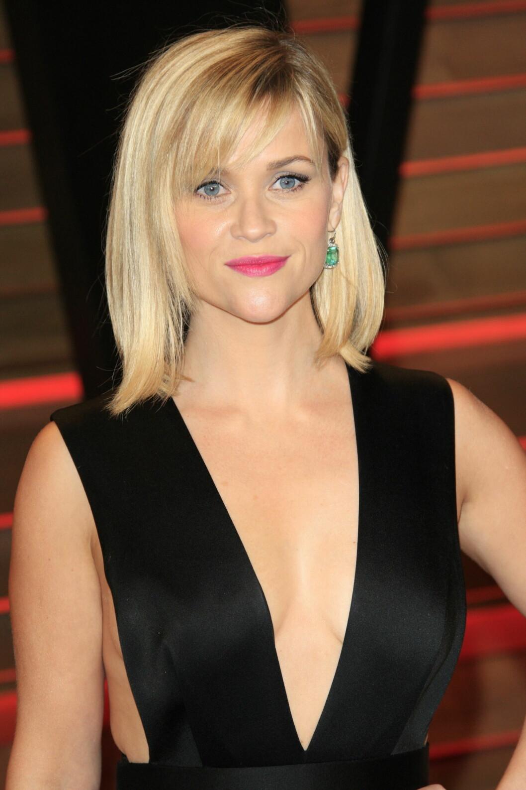 HJERTEFORMET FJES: Reese Witherspoon Foto: Splash News/ All Over Press