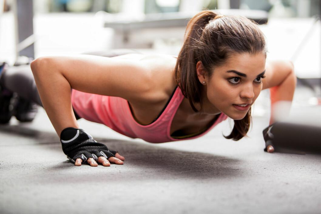 FUNKSJONELL TRENING: Dette er trening der du bruker styrketrening til å forbedre balanse og evnene til å gjennomføre hverdagsaktiviteter.  Foto: AntonioDiaz - Fotolia