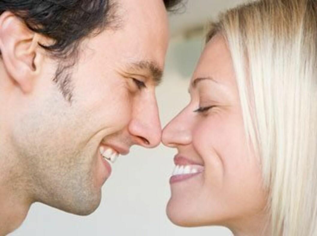 LYKKELIG EKTESKAP? Ifølge en amerikansk forsker har mange av oss for høye forventninger til ekteskapet.