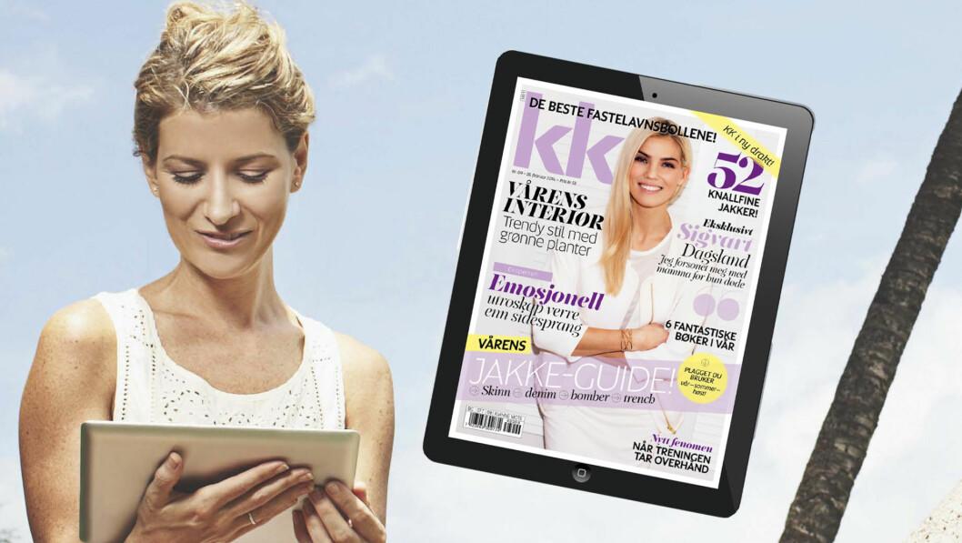 PÅ IPAD: Nå får du kjøpt og lastet ned KK på iPad.