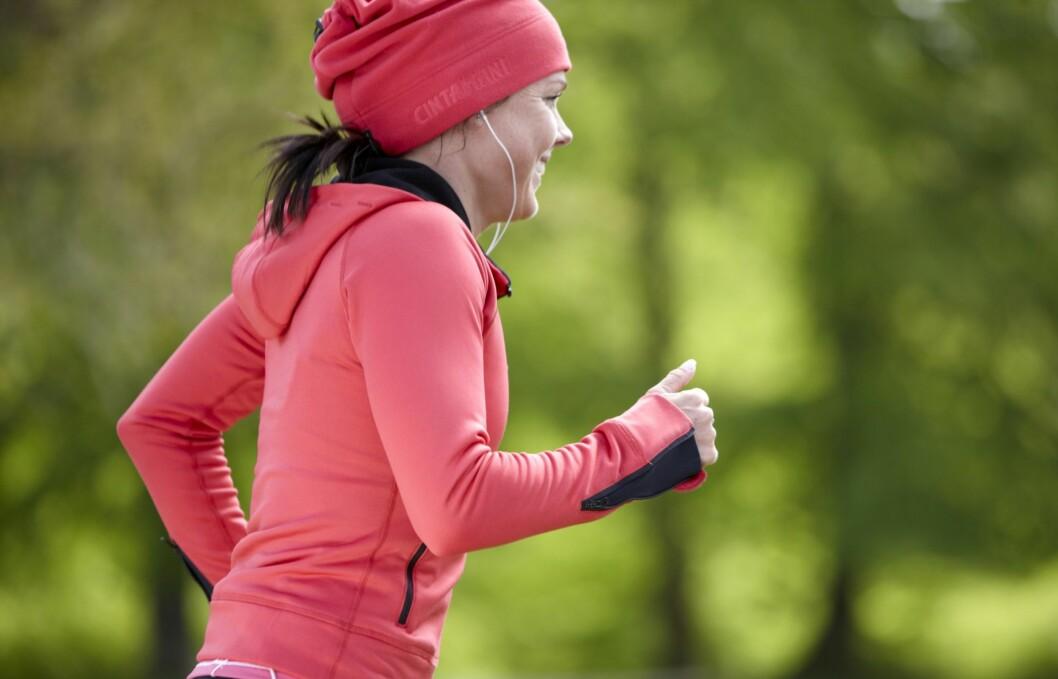 VIKTIG Å TA OPP TEMPOET PÅ GÅTUREN: En ny studie viser at det er mye viktigere å tenke på intensitetsnivået ditt, enn hvor lenge du holder på, spesielt på gåturen.  Foto: Colourbox.com