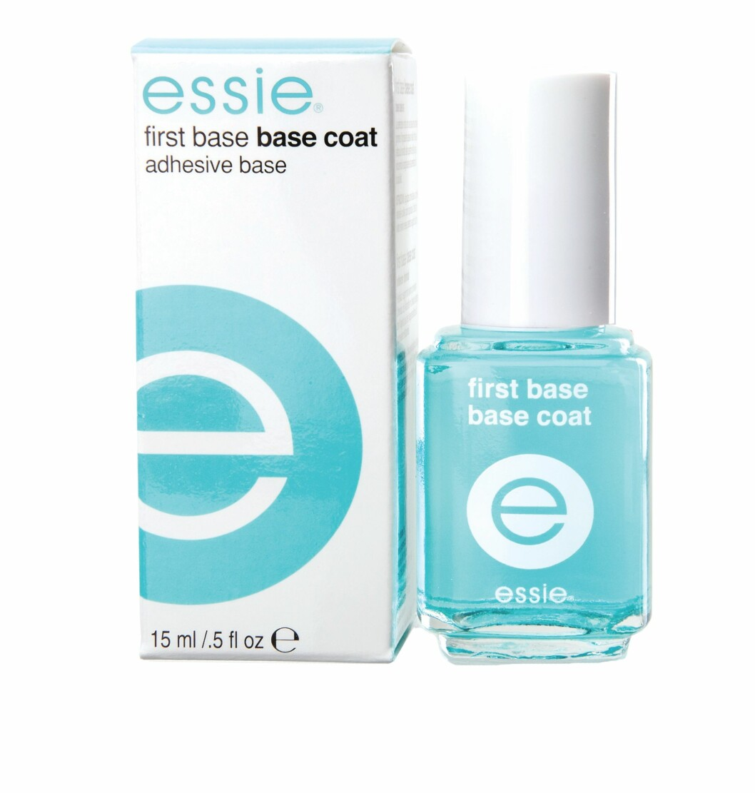 First Base Coat fra Essie, kr 159 Foto: Produsenten