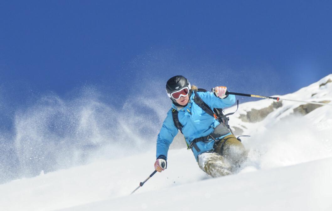 VINTERSPORT: Det er viktig å ha en gud grunnstyrke når du driver med vintersport. Har du tid bør du begynne å trene før det er snø på bakken.  Foto: ARochau - Fotolia