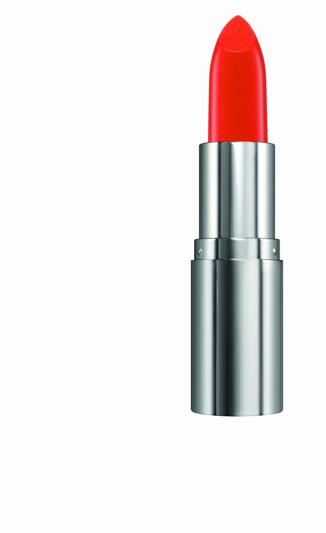 Colour Crush Matte Lipstick i fargen Coral Blush fra The Body Shop, kr 139. Foto: Produsenten