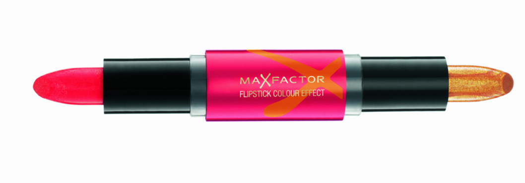 Flipstick i fargen Gypsey Red fra Max Factor, kr 129. Foto: Produsenten