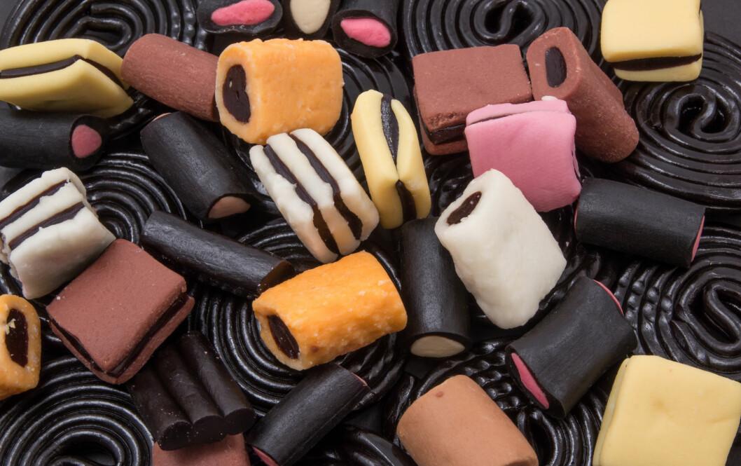 MMM, LAKRIS: Så godt, og inneholder mye mindre kalorier enn sjokolade. Ikke minst, er det stor sannsynlighet for at du spiser litt mindre.  Foto: roostler - Fotolia