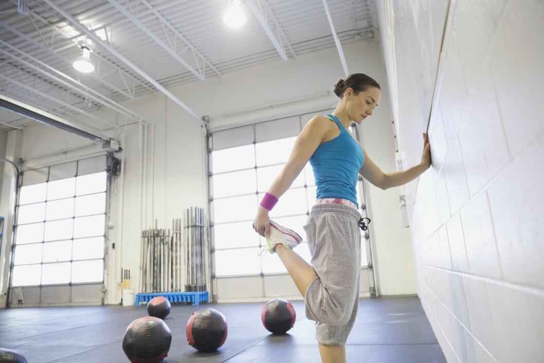 HJELP MED TRENING: Den nye behandlingsmetoden som skal testes, foregår blant annet med trening.  Foto: All Over Press