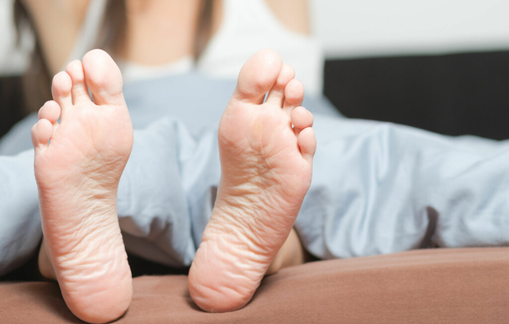 FØLG MED PÅ FØTTENE: De kan faktisk avsløre en hel del om helsen din.  Foto: Lars Zahner - Fotolia