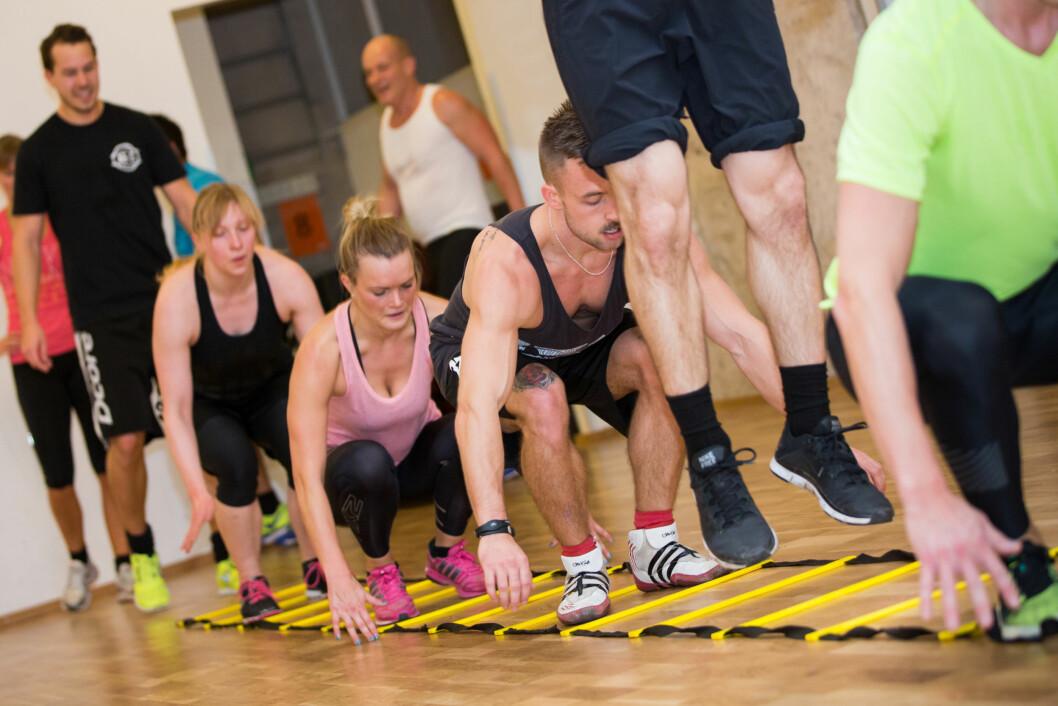 SPEED N' SPORTS: Timen Speed 'n Sports kombinerer koordinasjon, hurtighet og kondisjon. Foto: Photo: Thorleif Robertsson