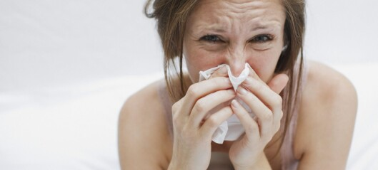 Triks mot sår nese