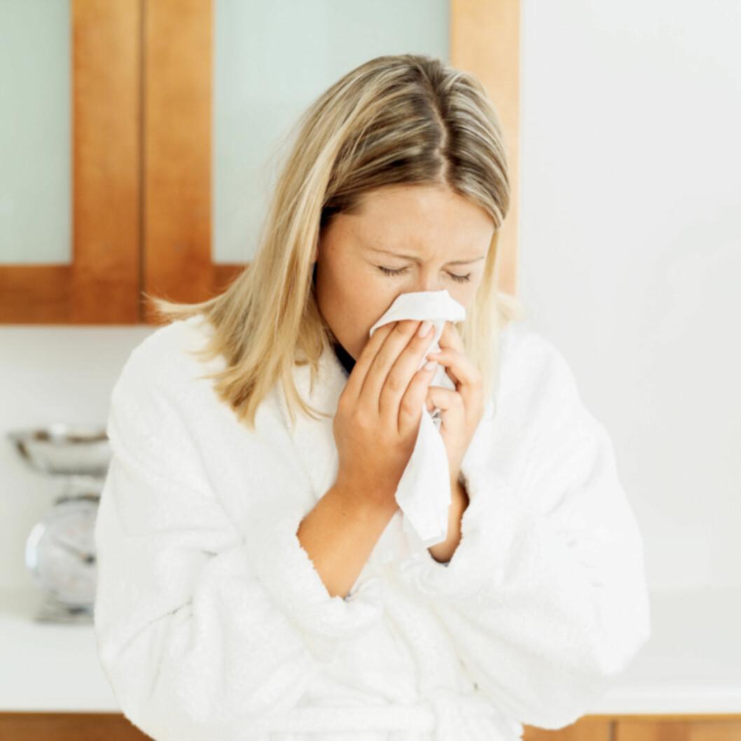 IKKE MORO: Det å være syk er ikke spesielt gøy, derfor lønner det seg å kle på seg.  Foto: Thinkstock