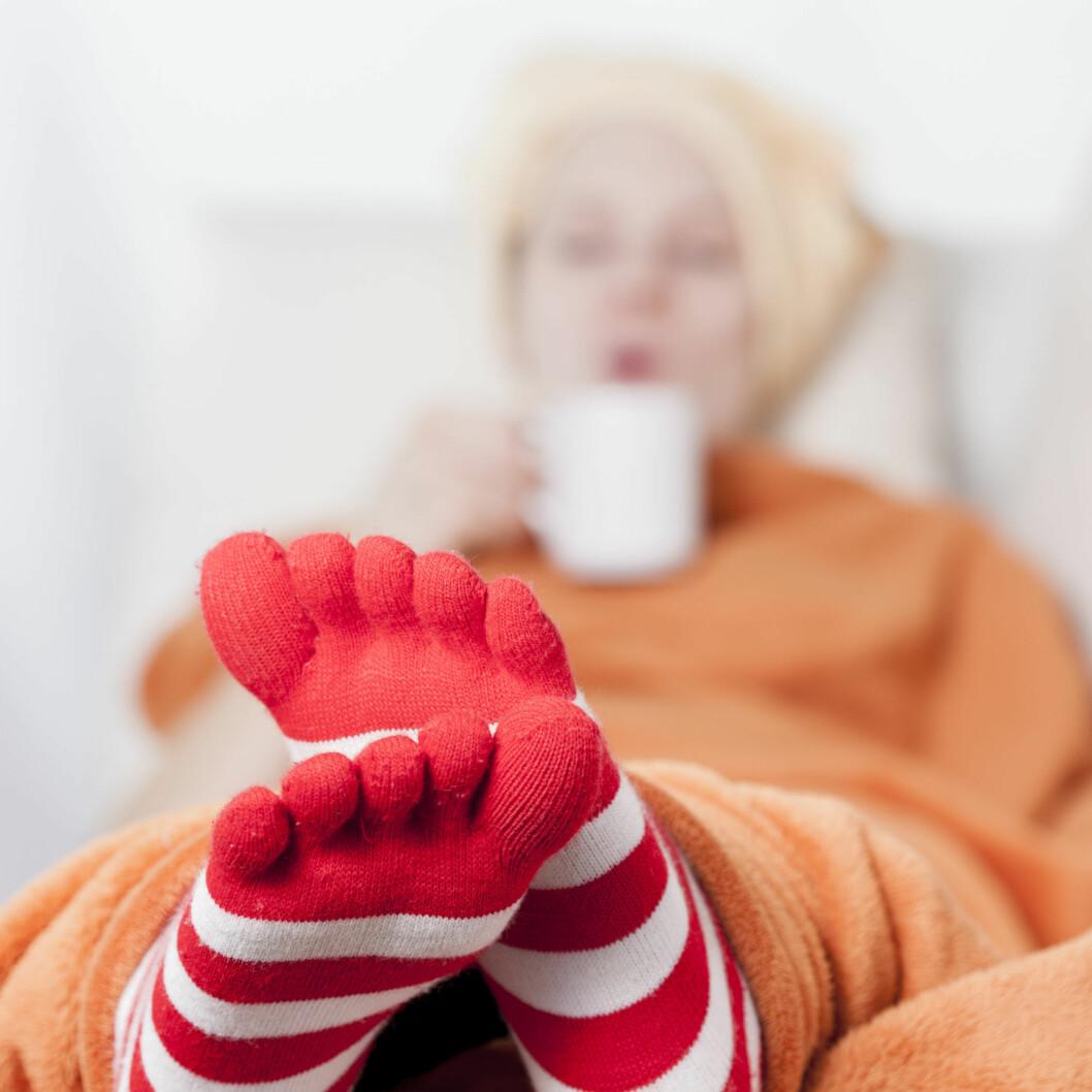VARME FØTTER: Det ER viktig å være varm på beina! Foto: ASK-Fotografie - Fotolia