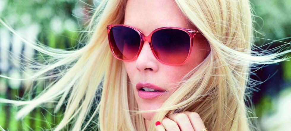 Claudia Schiffer har designet brillekolleksjon for Rodenstock