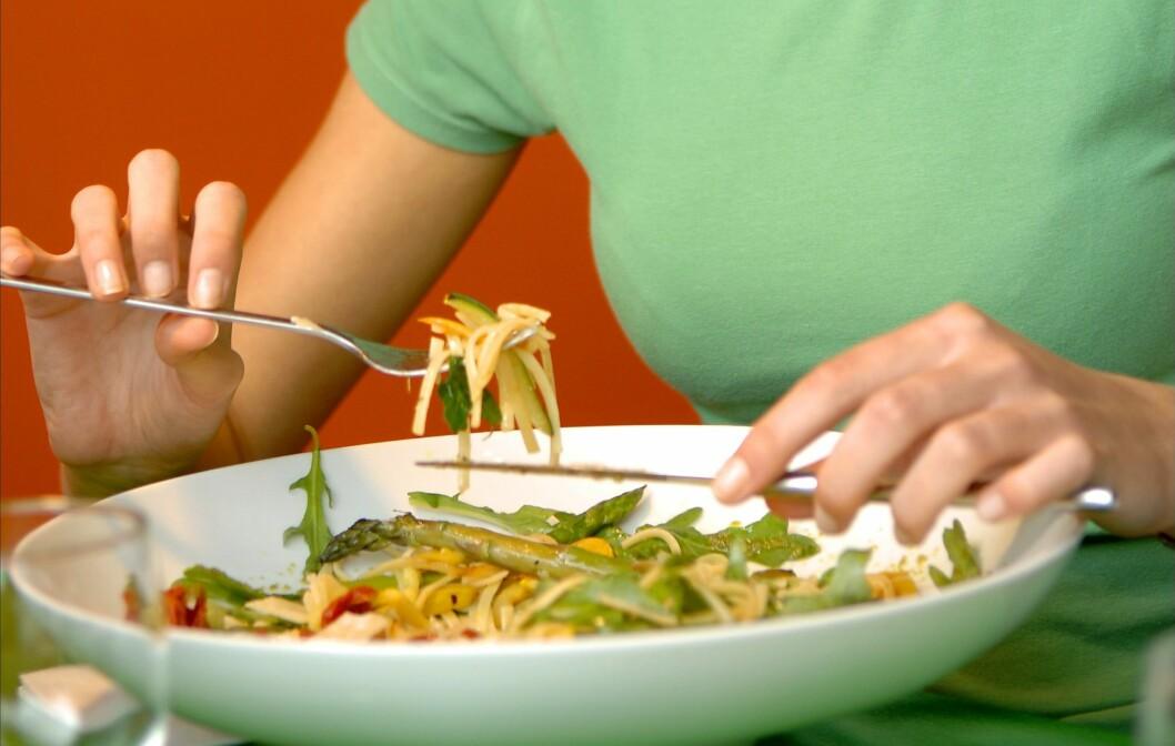 <strong>OBS OBS:</strong> Glutenfri pasta er ikke sunnere enn vanlig pasta. Foto: All Over Press