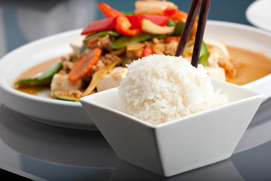 ASIATISK: Kokosmelk blir spesielt mye brukt i asiatisk mat, som indisk og Thailands mat.  Foto: Todd Arena