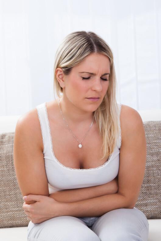 PLAGSOM LYD?: Ofte kan det være ganske flaut når magen lager rumlelyder.  Foto: apops - Fotolia