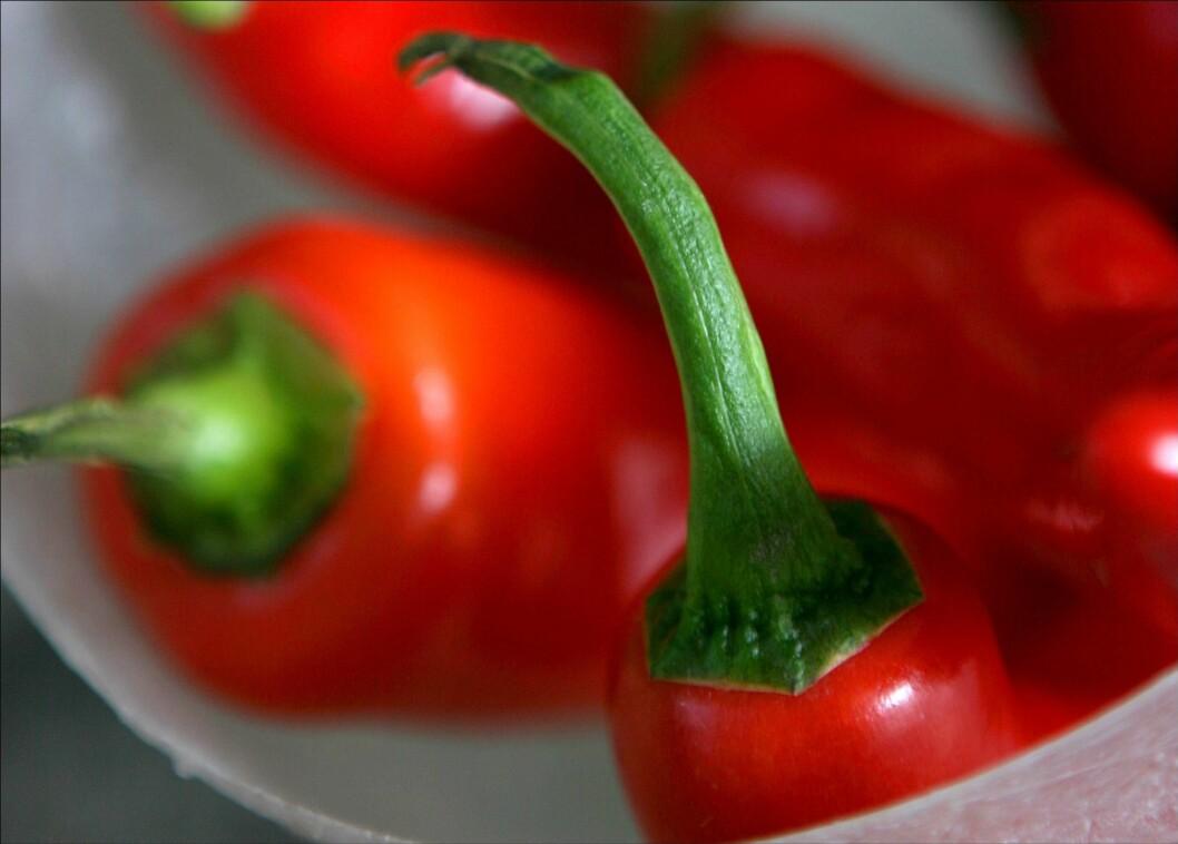 CHILI: Blant januarmaten er det ikke så dumt å inkludere litt chili - faktisk kan det øke sexlysten. Foto: All Over Press