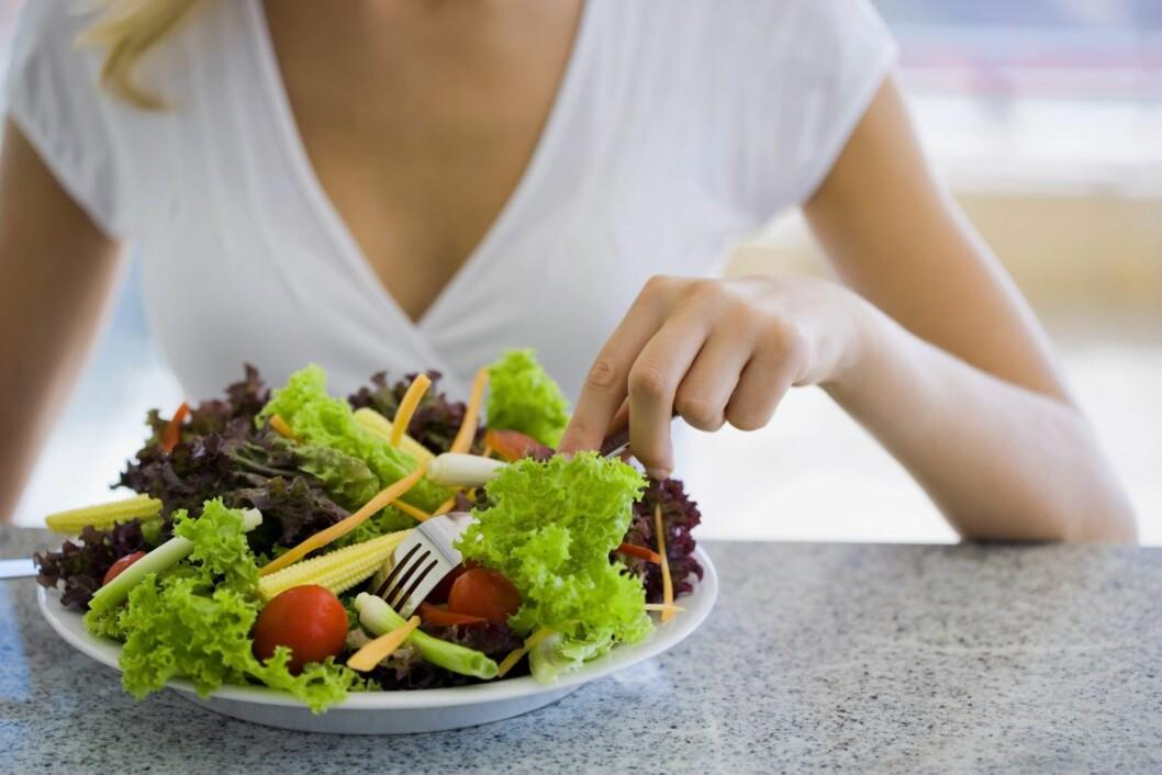 TO FORDELER: Grønnsaker er kalorifattige, men inneholder mange næringsstoffer. Foto: Getty Images/Pixland