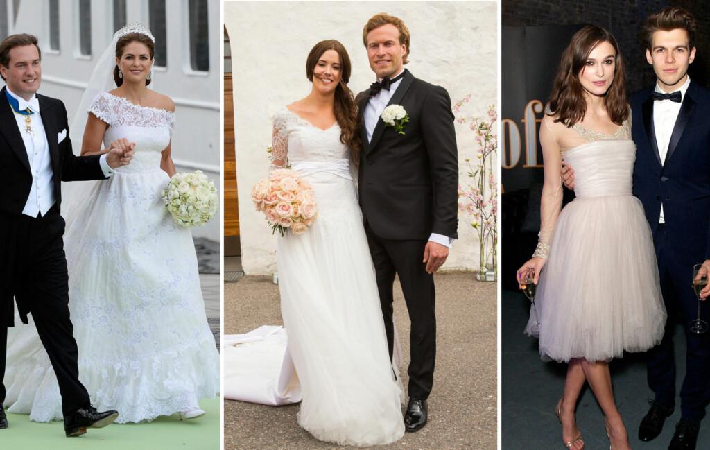36633e07 BRYLLUP: I 2013 har blant annet prinsesse Madeleine, arist Marion Ravn og  skuespiller Keira