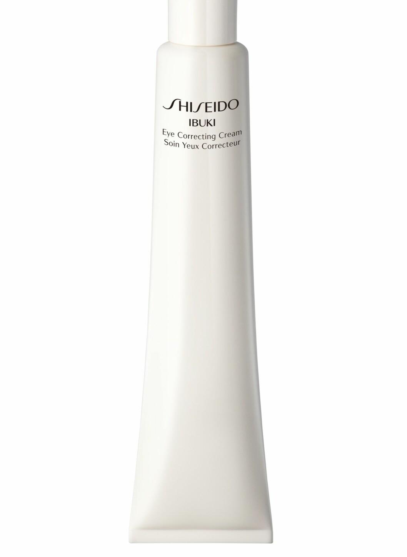 Ibuki fra Shiseido har en lett kjølende effekt som virker drenerende på poser under øynene, (15 ml, kr 425) Foto: Produsenten