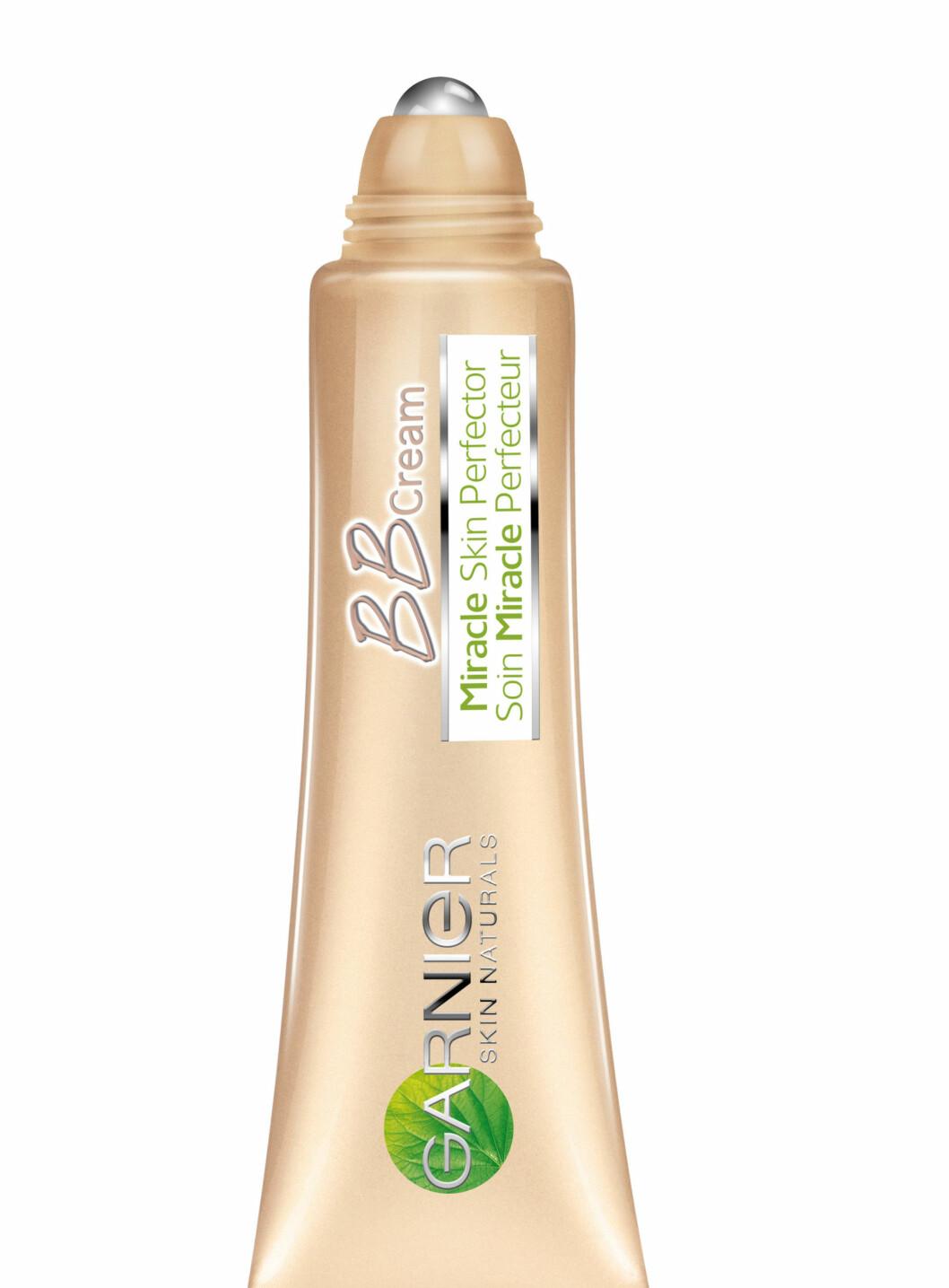 BB Cream Eye Roll-On fra Garnier reduserer hovenhet og mørke ringer og synligheten av fine linjer. (7 ml, veil. kr 89) Foto: Produsenten