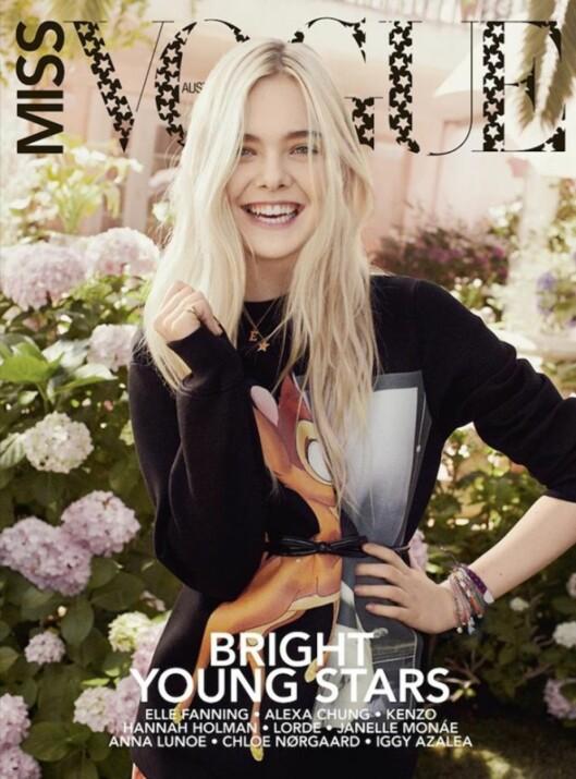 PÅ COVERET AV VOGUE: Givenchy-genseren har prydet coveret av både australske (se bildet) og japanske Vogue.