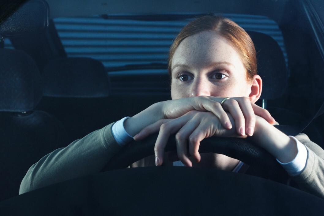 SER IKKE SÅ GODT: Vi mennesker har ikke like godt nattsyn som mange dyr. Dette kan være spesielt farlig når vi kjører bil sent på kvelden.  Foto: ptnphotof - Fotolia
