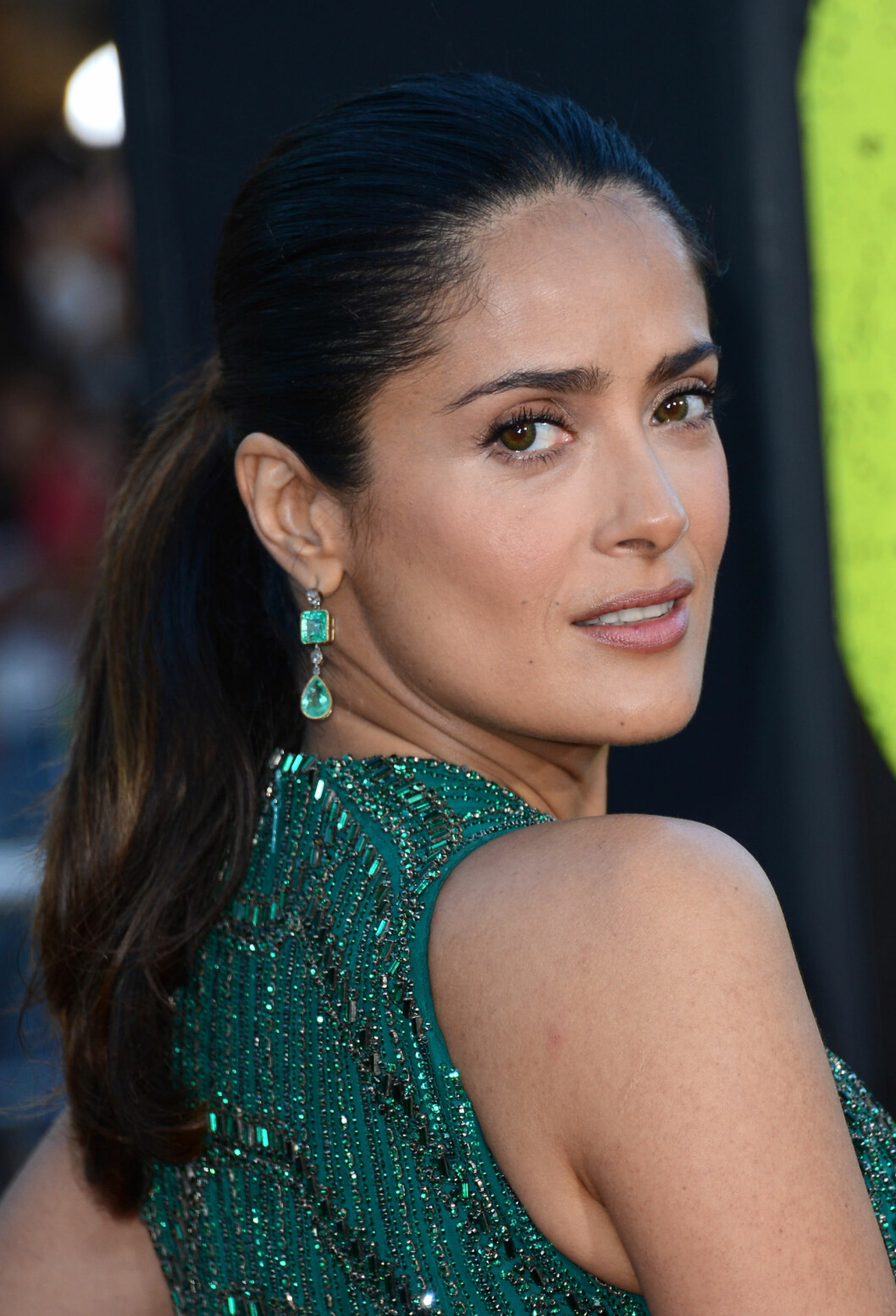 <strong>LOS ANGELES, CA - JUNE 25:</strong>  Actress Salma Hayek arrives at the premiere of Universal Pictures Savages at Westwood Village on June 25, 2012 in Los Angeles, California.  (Photo by Michael Buckner/Getty Images) Foto: Getty Images/Getty Images/All Over Press
