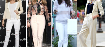 Slik blir du flott i hvite bukser