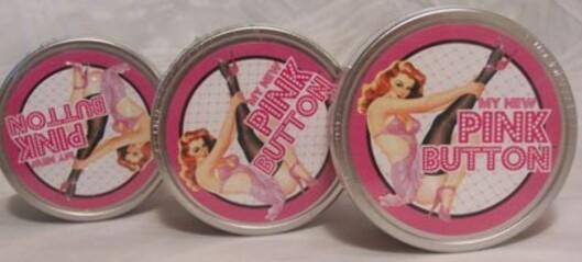 SKJØNNHETSPRODUKT: «My New Pink Button» kommer i fire forskjellige nyanser. To lyse for de sjenerte, og to mørke for de mer dristige.  Foto: Produsenten