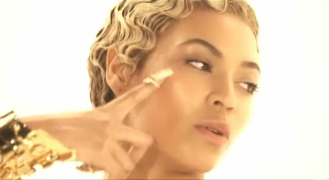 TRENDSETTER: Beyoncé er stadig tidlig ute med nye trender, og du kan se negleringen hennes i musikkvideoen til «Sweet Dreams» fra 2009. Foto: BeyoncesSweet Dreams-video