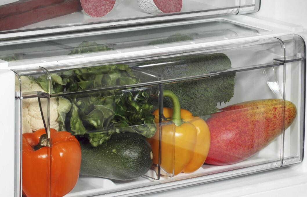 MAKS ÉN UKE: Grønnsaker er ferskvare, og bør ikke ligge særlig mye lenger enn én uke i kjøleskapet før du bruker dem.  Foto: Getty Images/iStockphoto