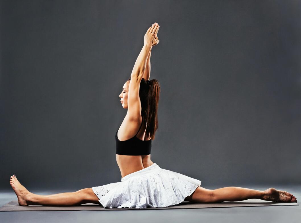 <strong>SPAGATEN:</strong> Er ikke målet med bevegelighetstrening - målet er at du skal få en velfungerende kropp. Foto: Amelia Fox - Fotolia