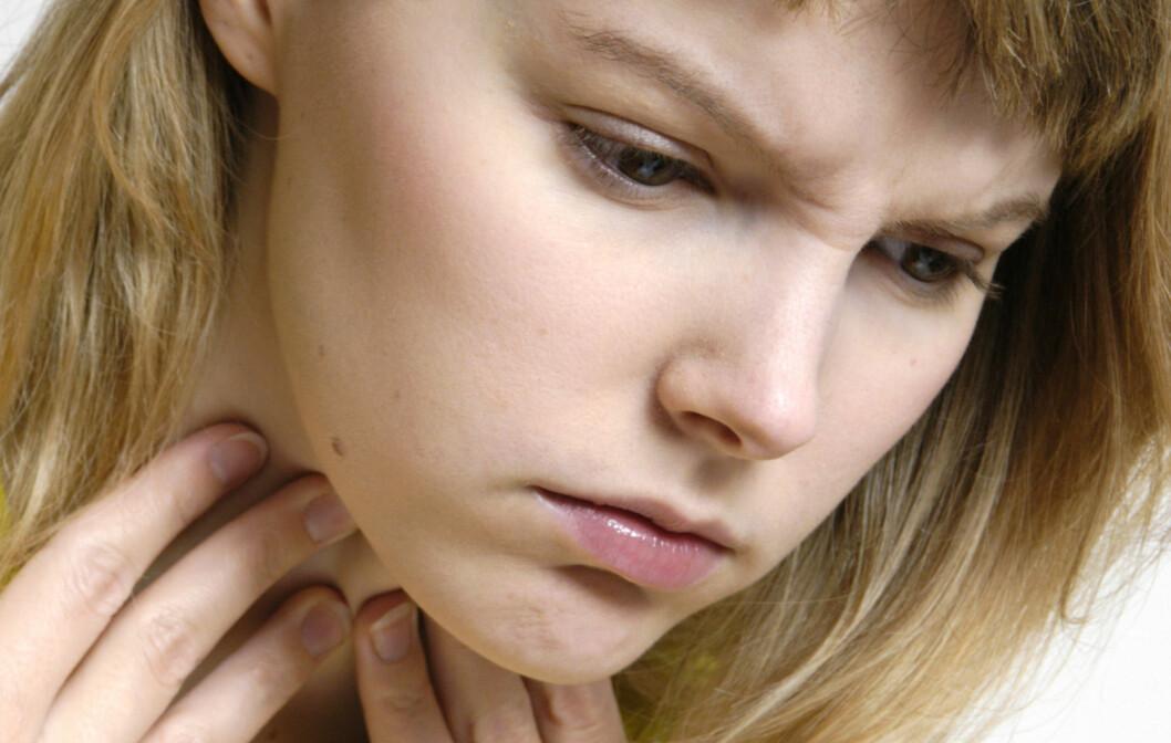 BONNIE TYLER-STEMME: Heshet skyldes feil bruk av stemmen - hvis du ikke har fått halsbetennelse, da. Foto: dalaprod - Fotolia