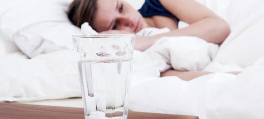 Du trenger ikke piller for å sove