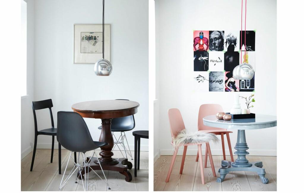 FØR OG ETTER: Sjekk hvor utrolig kult rommet ble med noen bittesmå endringer. Finn ut hvordan du gjør dette lenger nede i saken! Foto: Wotkjær og Kattrup
