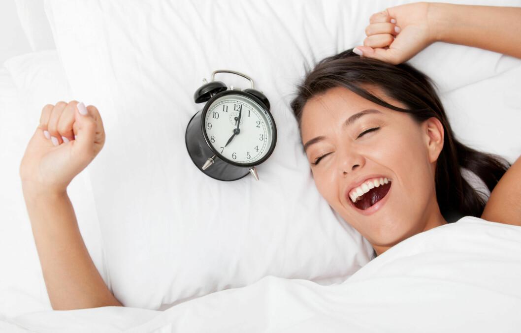 DRØM DEG GLAD: Gode drømmer gir gode morgener! Ta kontroll over marerittene dine. Foto: PantherMedia / Andres Rodriguez