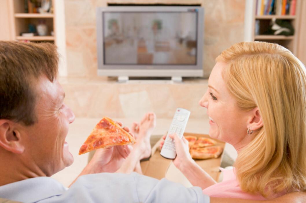 DROPP EKSTRA TOPPING: Ikke ha på ekstra ost eller kjøtt på pizzaen, da får måltidet enda mer mettet fett. Foto: Getty Images/iStockphoto