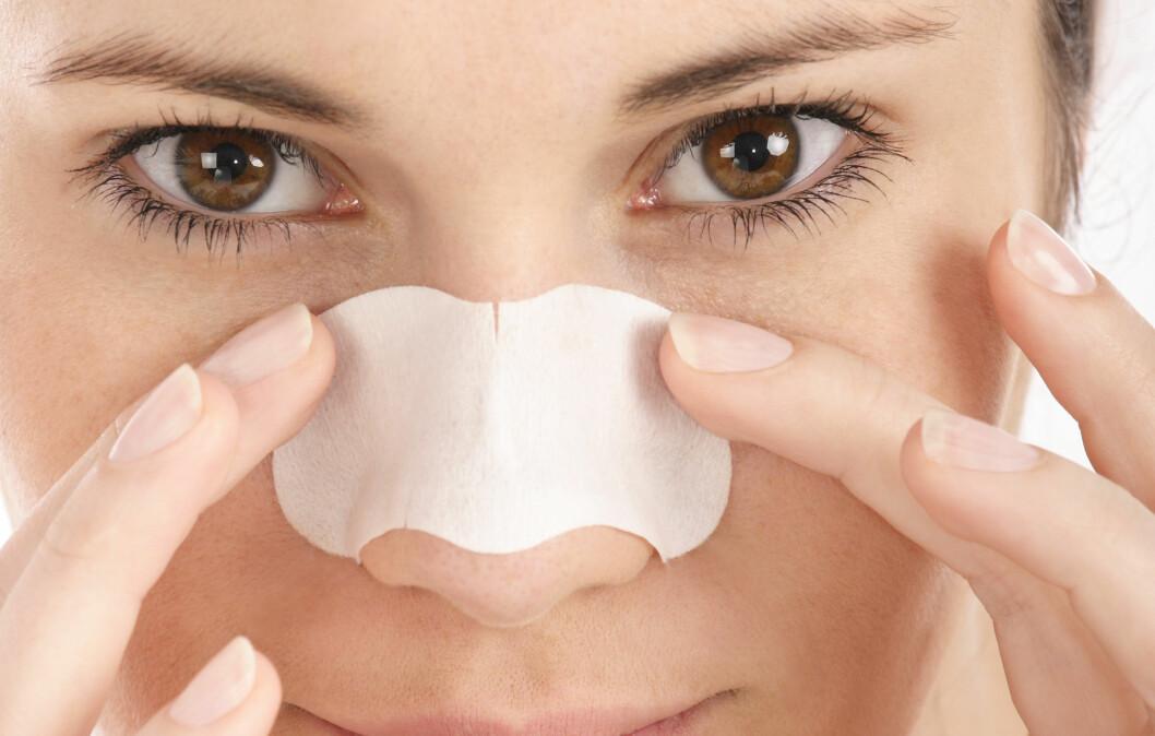 STORE PORER: God hudpleie og de riktige sminkeproduktene er alt som skal til for å minimere og skjule porer.  Foto: bsilvia - Fotolia