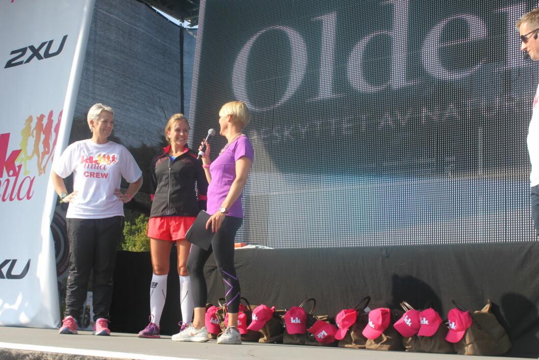 VANT 5 KM: Hedvig Røssberg Gjerde fra Bergen vant 5 km-klassen på KK-mila på tiden 17.16. Foto: A. C. Blystad