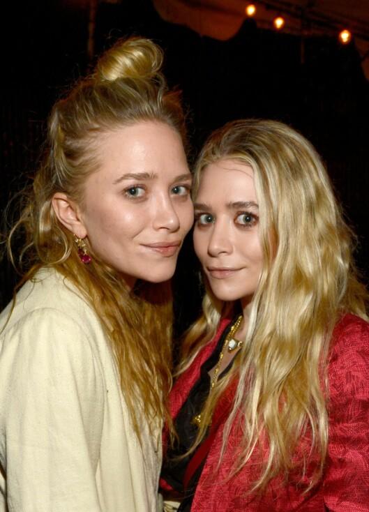 SER DU FORSKJELL?: Mary-Kate og Ashley (førstnevnte til venstre) er toeggede tvillinger, men svært like.  Foto: All Over Press