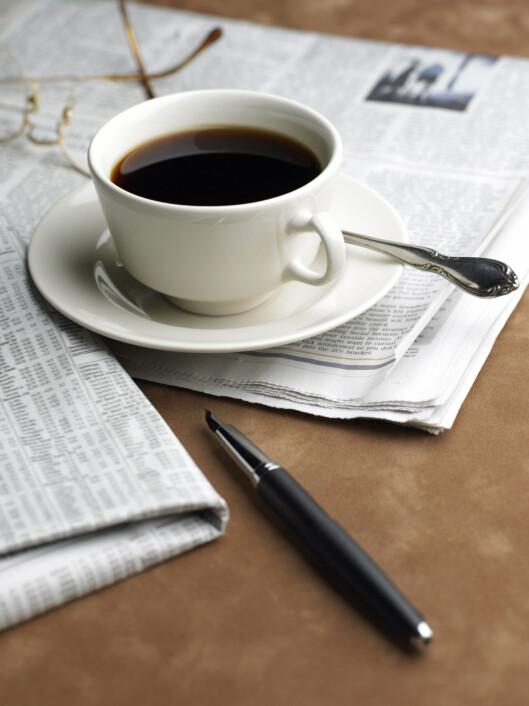 HOLDER IKKE: En kopp kaffe til frokost er IKKE bra dersom du ønsker å holde energinivået oppe og vekten nede.  Foto: Thinkstock.com