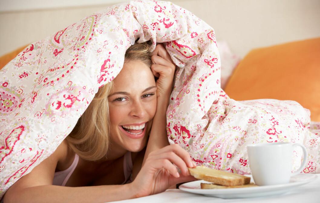 INNEN ÉN TIME: Spis frokosten din innen én time etter at du har stått opp.  Foto: Monkey Business - Fotolia
