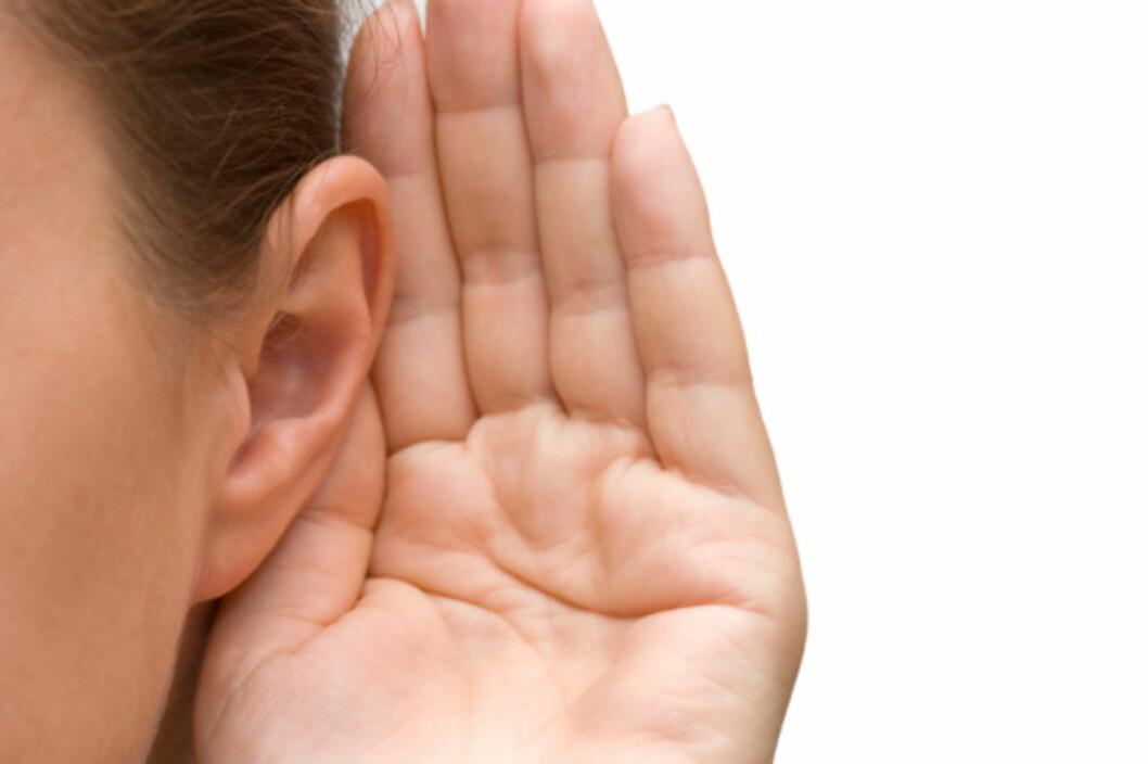 INFEKSJON: Dersom vannet blir liggende lenge i øret ditt kan dette resultere i en infeksjon.  Foto: Getty Images/iStockphoto